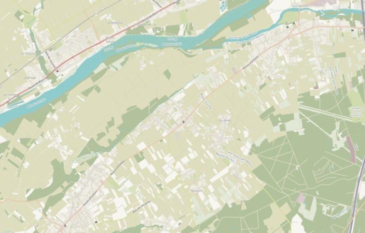 Plan intéractif de la ville