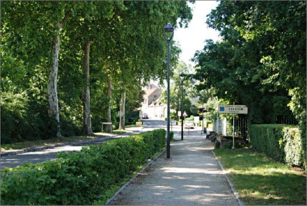 Entrée nord de Saint-Hilaire-Saint-Mesmin