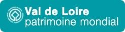 Logo de Val de Loire patrimoine mondial